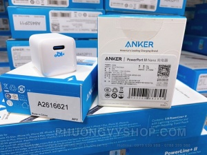 Cóc sạc Anker Powerport PD Nano (18W) A2716P21